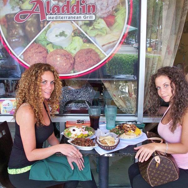 Photo taken at Aladdin Mediterranean Grill by Aladdin Mediterranean Grill on 5/8/2014