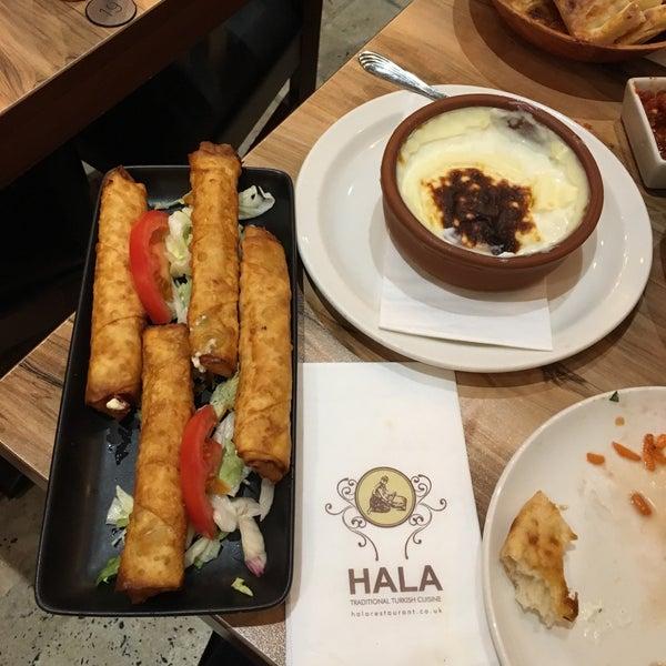 6/3/2017 tarihinde Sahra O.ziyaretçi tarafından Hala Restaurant'de çekilen fotoğraf