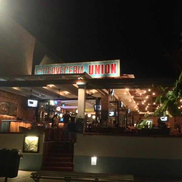 Photo taken at La Cerveceria Union by Naomi on 3/3/2013