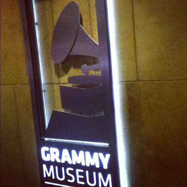 Photo taken at The GRAMMY Museum by Shawn H. on 10/28/2012