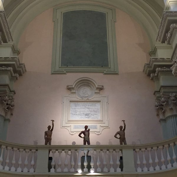 Photo taken at Accademia delle Belle Arti by Chayan K. on 11/26/2017