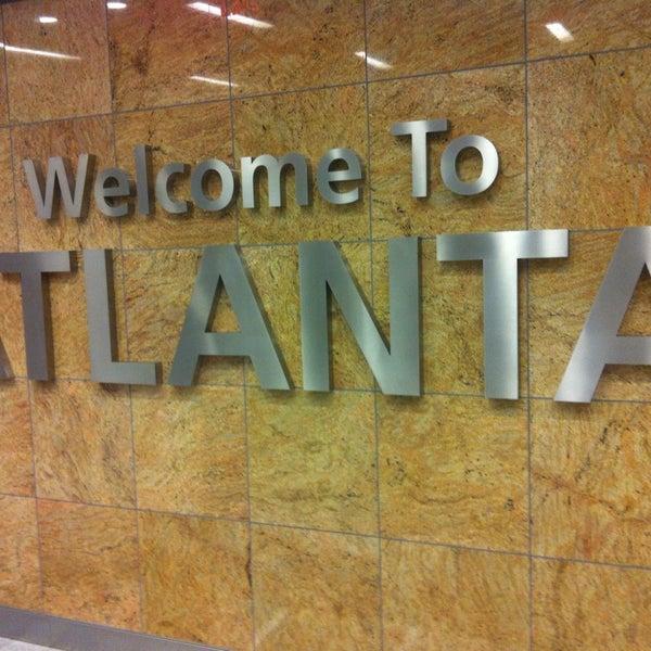 Photo taken at Hartsfield-Jackson Atlanta International Airport (ATL) by Yegor on 7/14/2013
