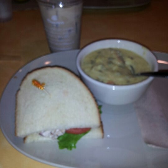 Photo taken at Panera Bread by Rebecca E. on 9/19/2012