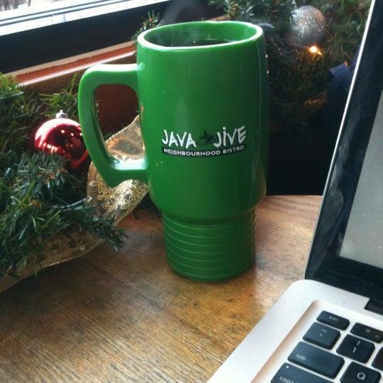 Photo taken at Java Jive by Jayson U. on 12/3/2012