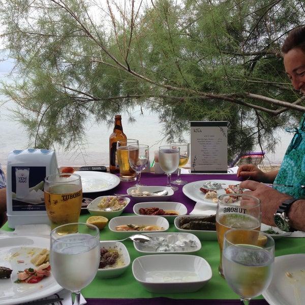 5/8/2013 tarihinde Tunç TUNÇKIRANziyaretçi tarafından Kekik Restaurant'de çekilen fotoğraf