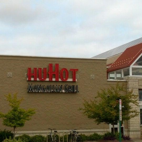 Photo taken at HuHot Mongolian Grill by Ryan M. on 9/16/2012