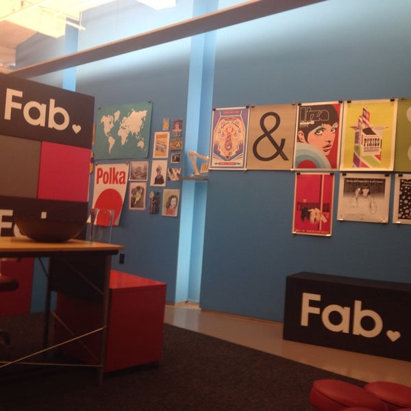 "Photo taken at Fab.com by Danielle ""Norm"" F. on 10/18/2013"