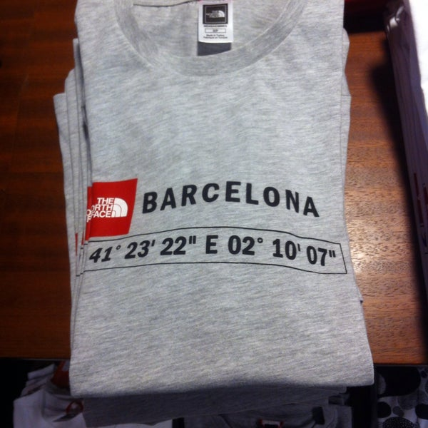 the north face barcelona