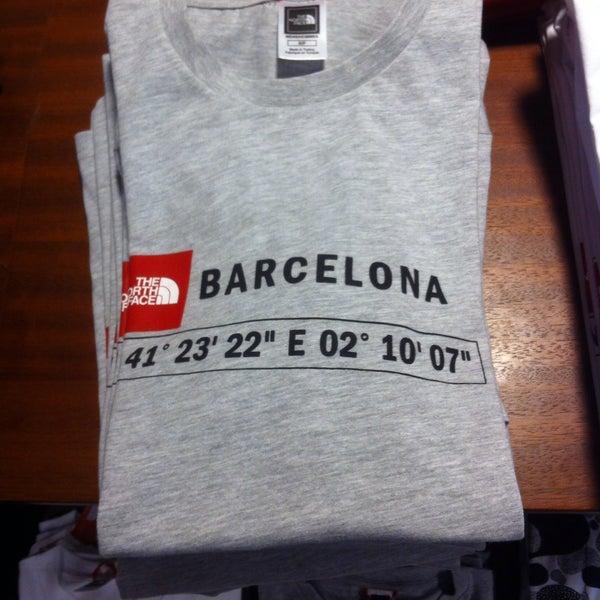 tienda north face barcelona gran via