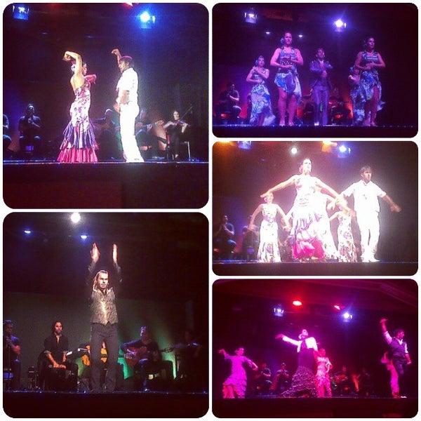 Photo taken at Palacio del Flamenco by Yana S. on 8/10/2013