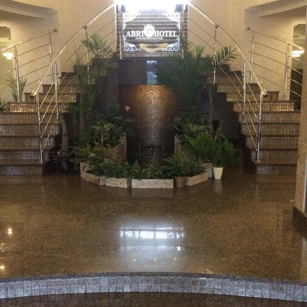 Снимок сделан в Premier Hotel Abri пользователем Ирина Г. 4/6/2017