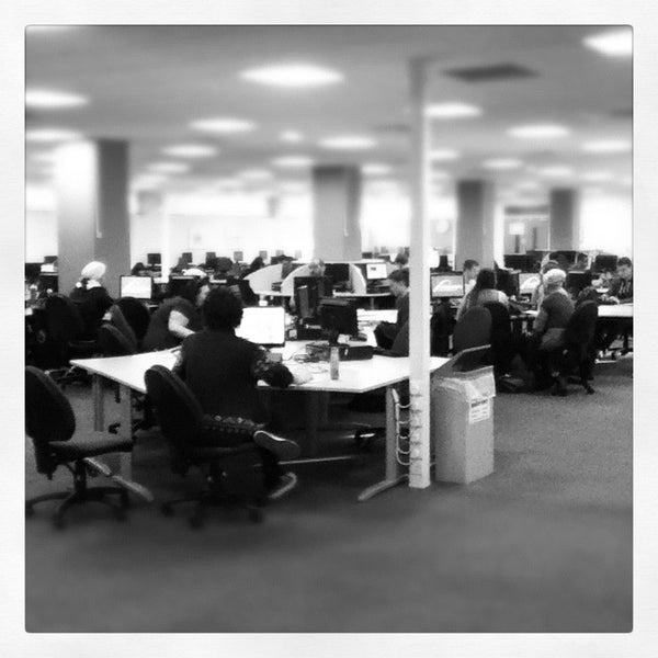 Floor 1 busy at work!
