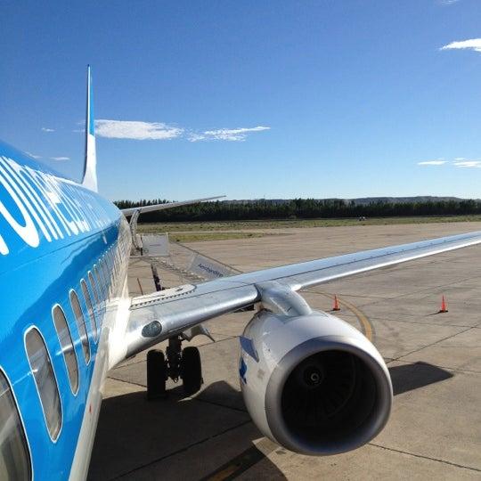 Foto tomada en Aeropuerto Internacional del Neuquén - Presidente Juan D. Perón (NQN) por Ine el 12/3/2012