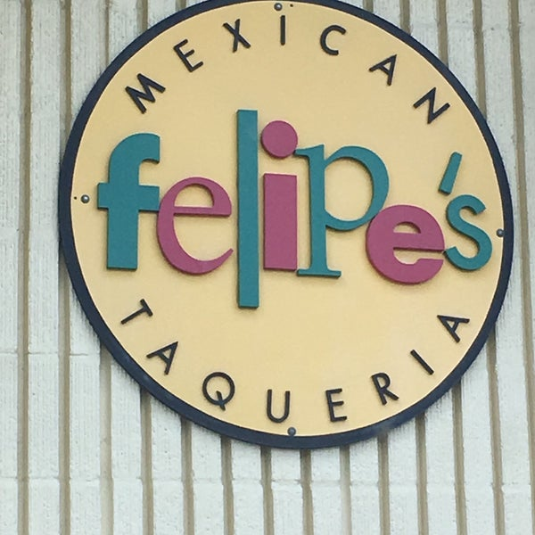 Photo taken at Felipe's Mexican Taqueria by Sam B. on 8/22/2016