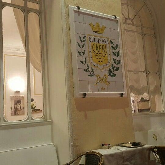 Photo taken at Quisisana Grand Hotel by Ricardo N. on 5/25/2016
