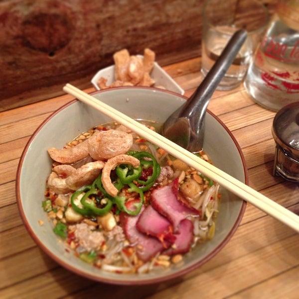 Foto tomada en Pure Thai Cookhouse por Ong A. el 3/24/2013