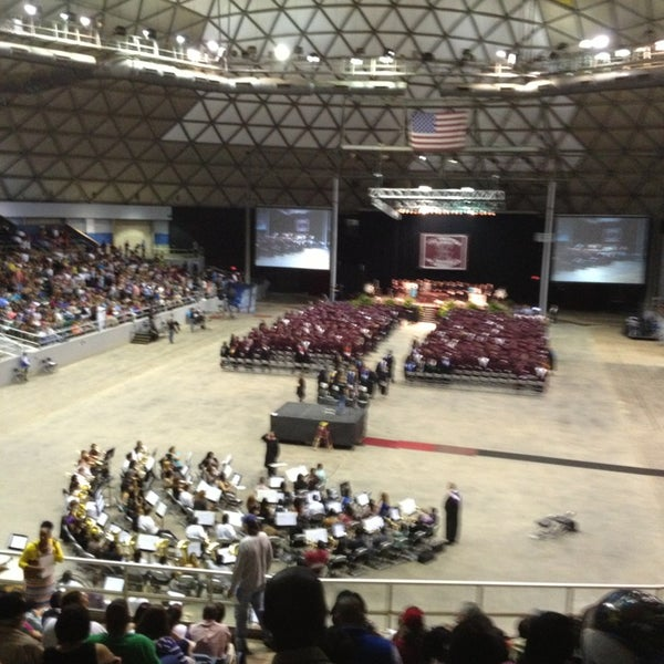 Photo taken at Bell County Expo Center by Robin E. on 6/8/2013