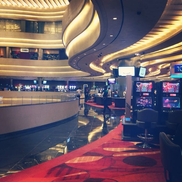 Photo taken at Marina Bay Sands Casino by Susan on 5/25/2014