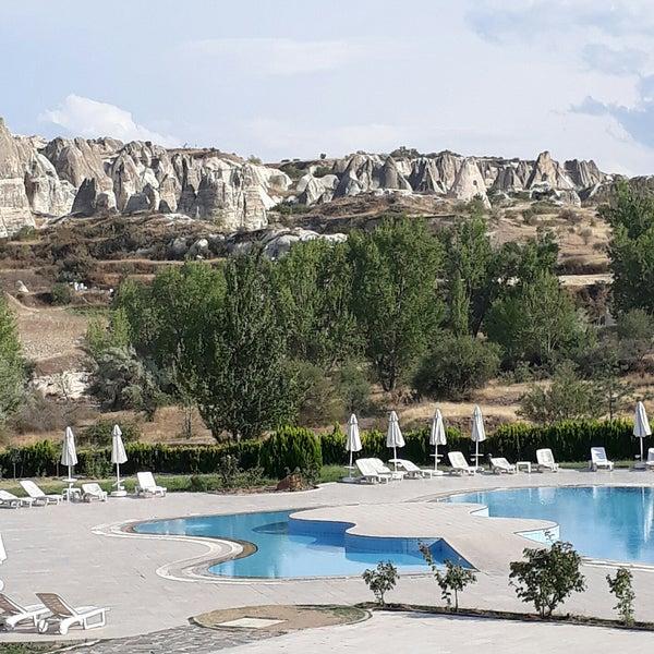8/31/2017 tarihinde Yasemin S.ziyaretçi tarafından Tourist Hotels & Resorts Cappadocia'de çekilen fotoğraf