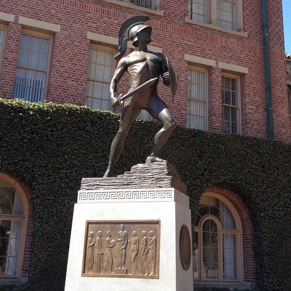 """Photo taken at USC Bookstore (BKS) by Andres """"Gonzo"""" G. on 9/19/2012"""