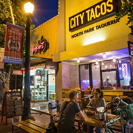 Photo taken at City Tacos by Bikabout on 11/2/2015