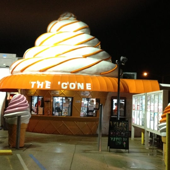Photo taken at The Cone by Will M. on 10/6/2012