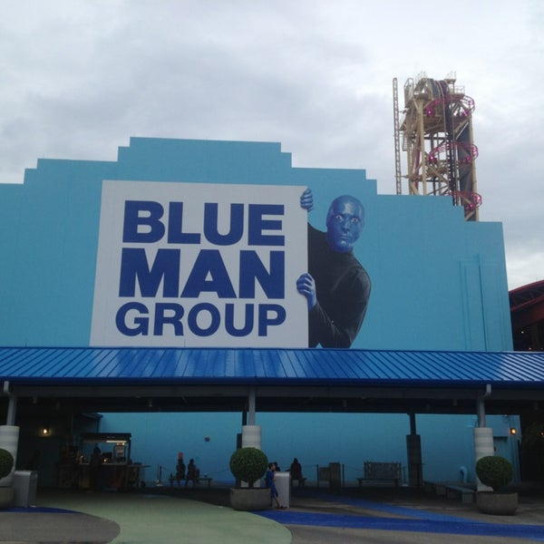 Photo taken at Blue Man Group at Universal CityWalk by Steve F. on 7/1/2013