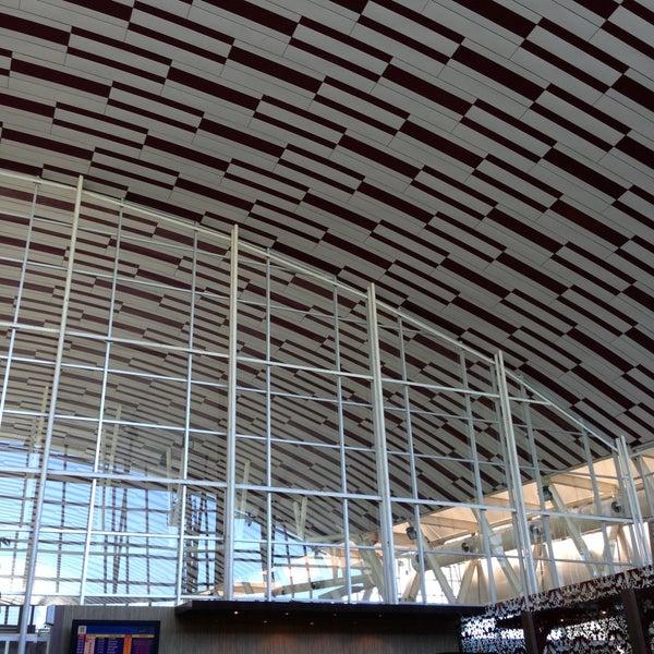 Photo taken at Sultan Hasanuddin International Airport (UPG) by Eri S. on 5/4/2013