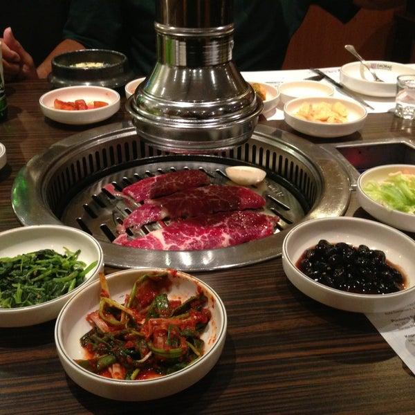 Photo taken at Daorae Korean BBQ Restaurant by Bill D. on 1/16/2013
