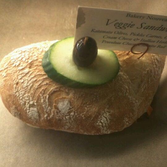 Photo taken at Bakery Nouveau by Jason V. on 3/16/2012