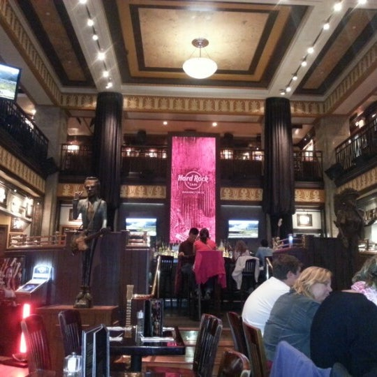 Photo taken at Hard Rock Cafe Washington DC by Diego O. on 10/1/2012