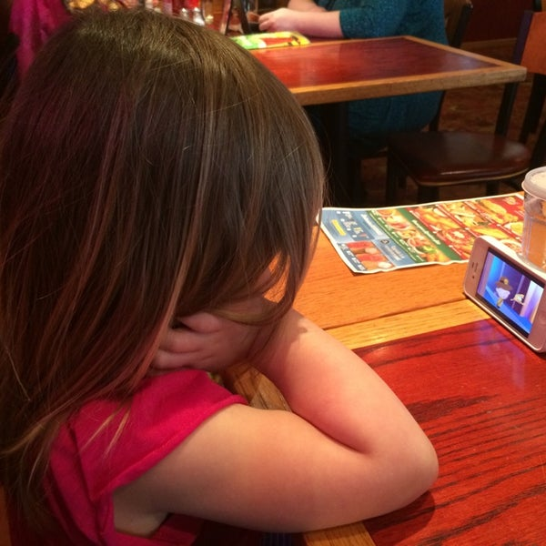Photo taken at Red Robin Gourmet Burgers by Meg P. on 3/13/2014