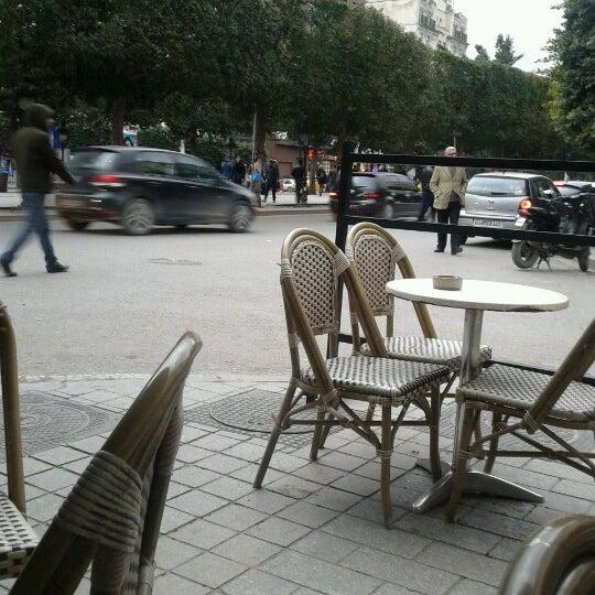 Photo taken at Avenue Habib Bourguiba by Raya on 2/28/2013