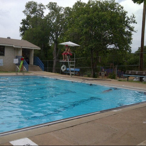 Photo taken at Big Stacy Pool by Hubert F. on 7/16/2013