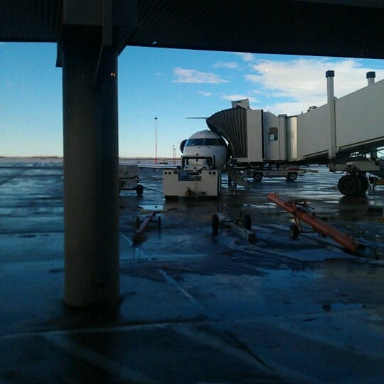 Photo taken at Saskatoon John G. Diefenbaker International Airport (YXE) by Frace M. on 11/5/2012