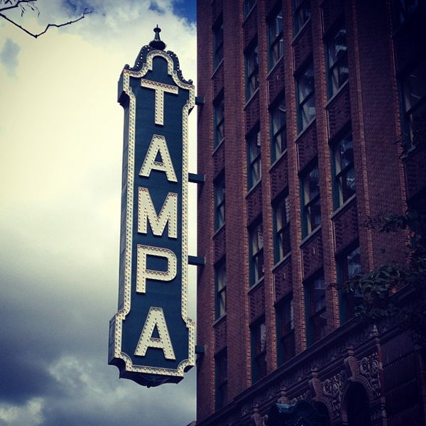 Photo taken at Tampa Theatre by Taj A. on 11/11/2012