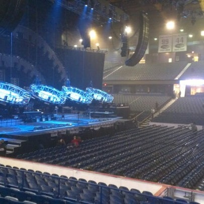 Photo taken at Allstate Arena by David S. on 12/8/2012