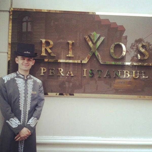 8/28/2013 tarihinde Gökhan Y.ziyaretçi tarafından Rixos Pera Istanbul'de çekilen fotoğraf