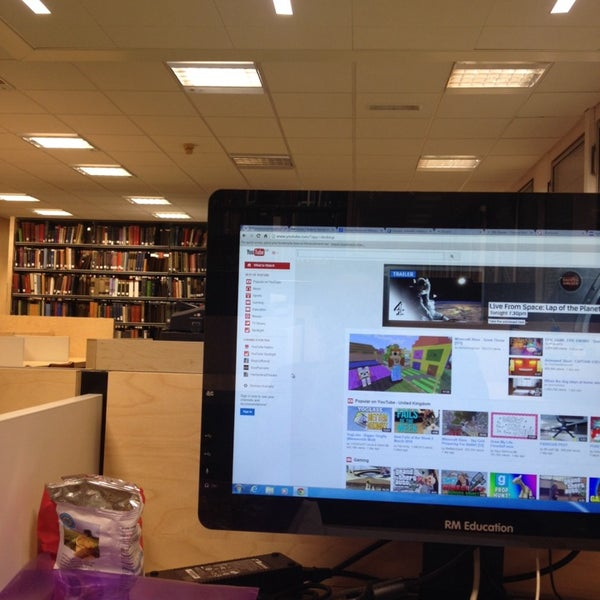 Photo taken at University of Warwick Library by PINAR on 3/16/2014