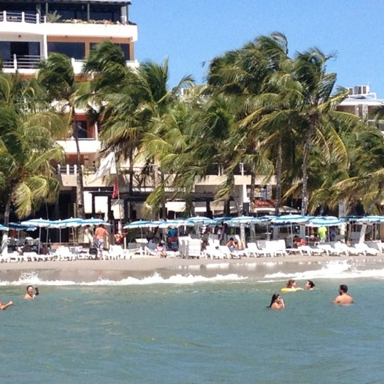Photo taken at Playa El Yaque by Jay M. on 11/4/2012