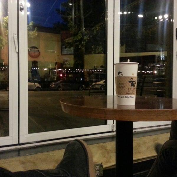 Photo taken at Uptown Espresso by Sham b. on 5/26/2013
