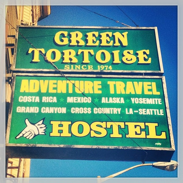 Photo taken at Green Tortoise Hostel by Sean R. on 1/2/2013