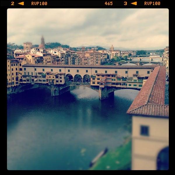 Photo taken at Uffizi Gallery by Massimo R. on 10/14/2012