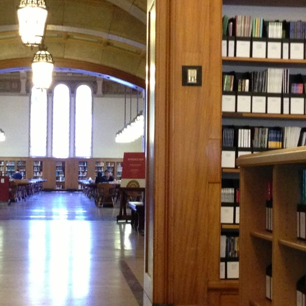 Photo taken at Doheny Memorial Library (DML) by Nid on 7/12/2013