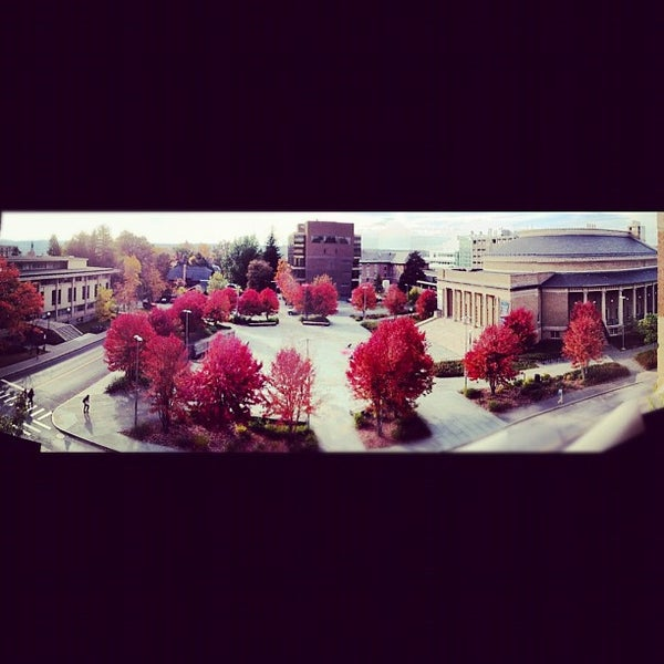 Photo taken at Bailey Hall by Hunter on 10/17/2012