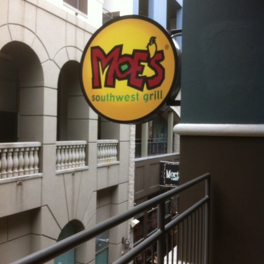 Photo taken at Moe's Southwest Grill by john s. on 10/2/2012