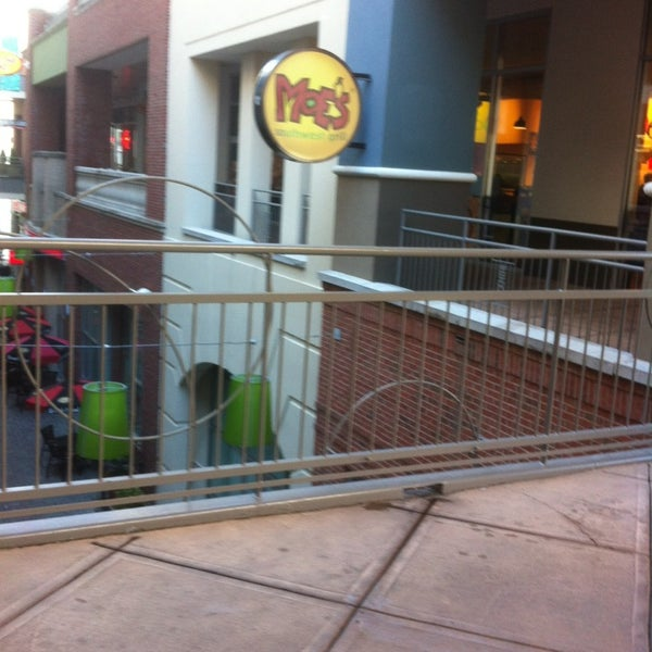 Photo taken at Moe's Southwest Grill by john s. on 1/18/2013