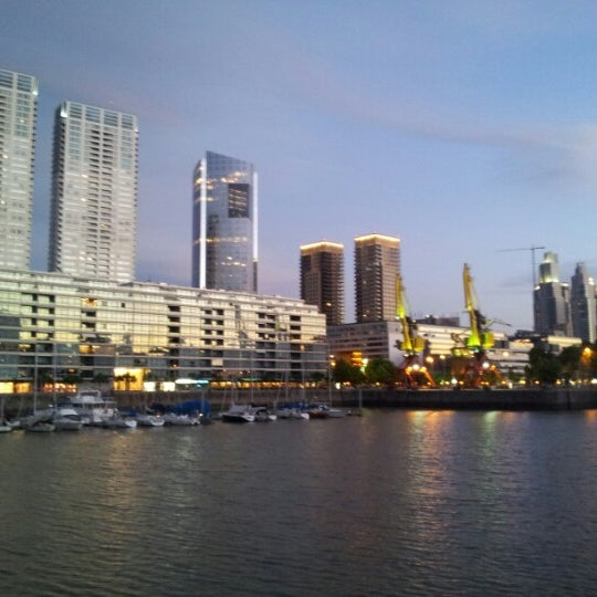 Photo taken at Puerto Madero by Eloi on 12/1/2012