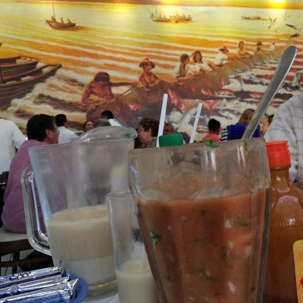 Photo taken at Restaurante Hnos. Hidalgo Carrion by Noel on 3/16/2014