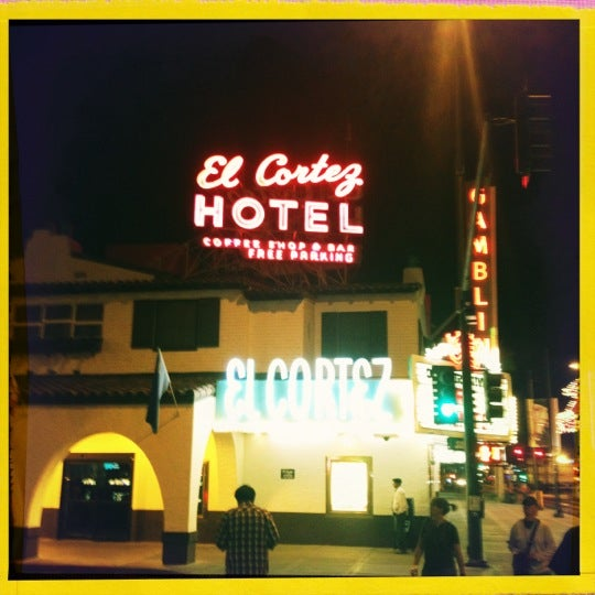 Photo taken at El Cortez Hotel & Casino by Stephanie L. on 10/7/2012